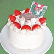クリスマスケーキ6号生クリームタイプ