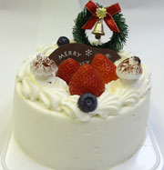 ふたりのクリスマスケーキ